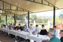 Temmuz ayı İl Divan Toplantımızı Bornova/Çiçekliköy?de gerçekleştirdik